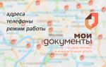 МФЦ Мои документы: адреса, телефоны, режим работы — на карте Москвы и Московской области