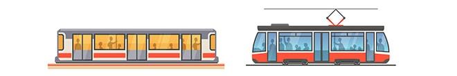 Метро и транспорт